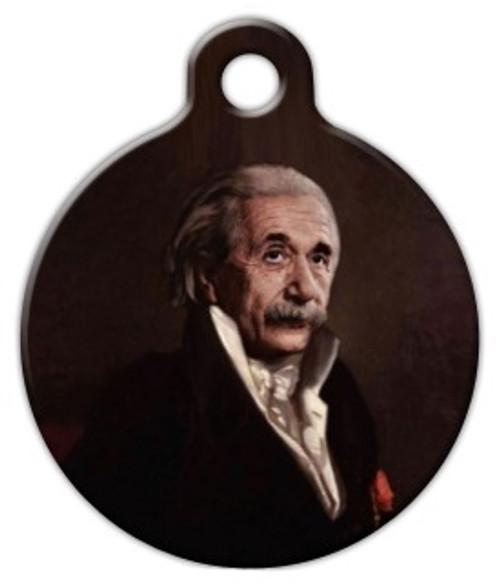 Einstein Dog ID Tag