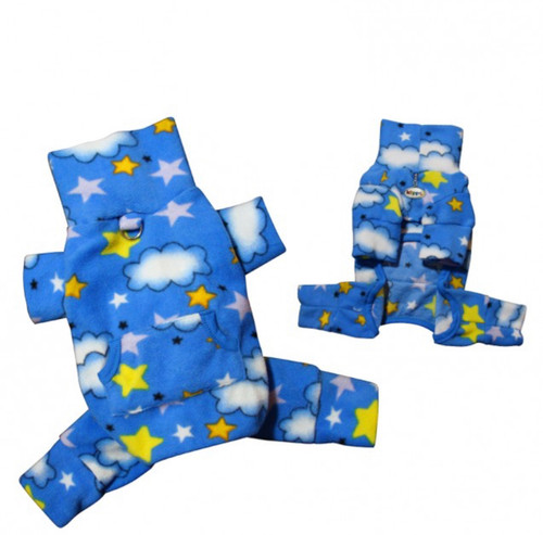 Stars and Clouds Dog Pajamas