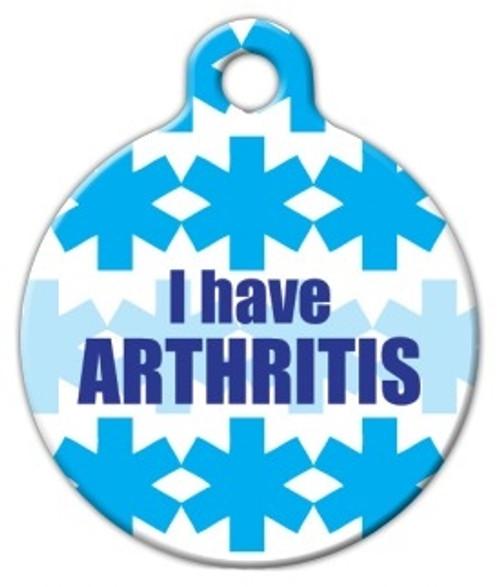 Arthritis Medical Alert Dog ID Tag
