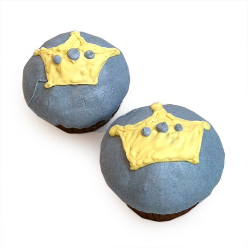 Blue Prince Cupcakes (set of 6)