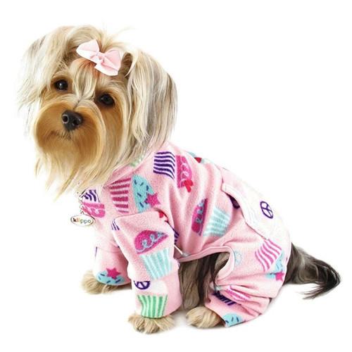 Dog Pajamas   Peace and Cupcakes Dog Pajamas