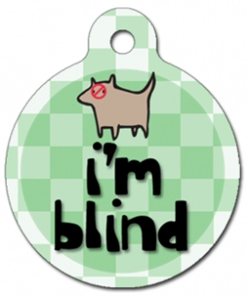 I'm Blind Medical Alert Dog ID Tag