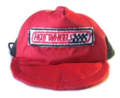 Red Hot Wheels Dog Racing Hat