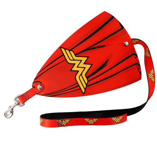 Wonder Woman Cape Dog Leash