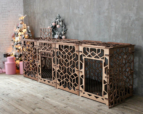 large double dog crate