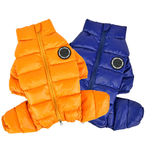 Puffer Dog Snowsuit