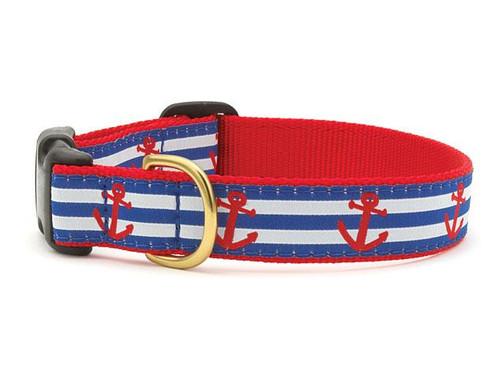 Anchors Aweigh Dog Collar