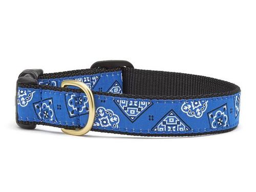 Blue Bandana Dog Collar