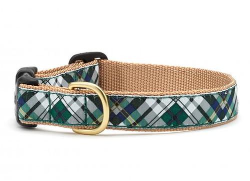 Gordon Plaid Dog Collar