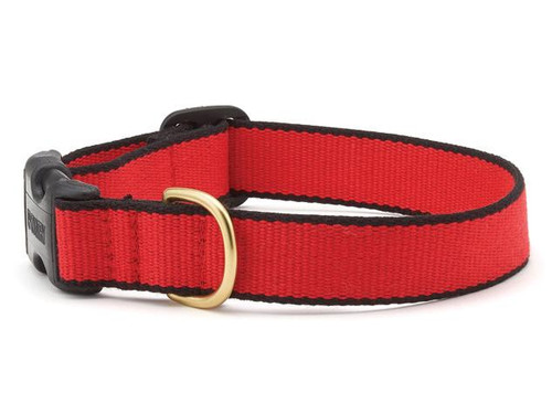 Green Market Red and Black Dog Collar