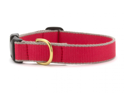 Green Market Red and Gray Dog Collar