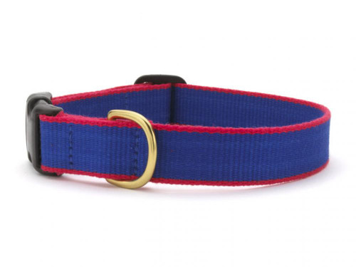 Green Market Royal Blue and Red Dog Collar