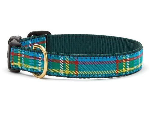 Kendall Plaid Dog Collar