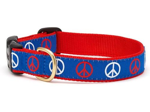 Peace Dog Collar