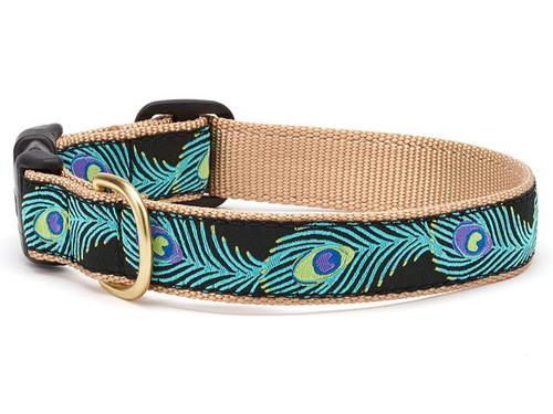 Peacock Dog Collar