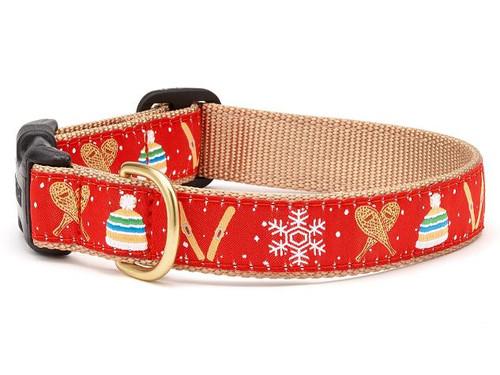 Snowshoes Dog Collar