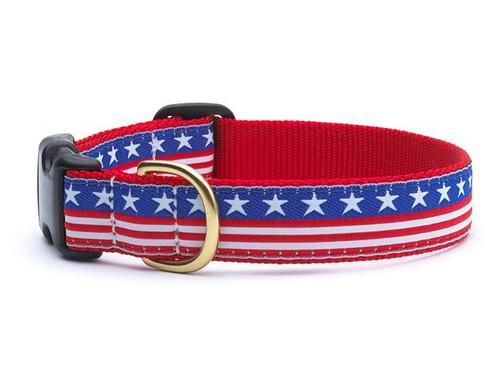 Stars and Stripes Dog Collar