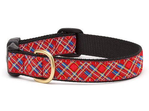 Stewart Plaid Dog Collar