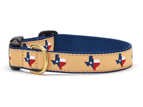 Texas Navy Dog Collar