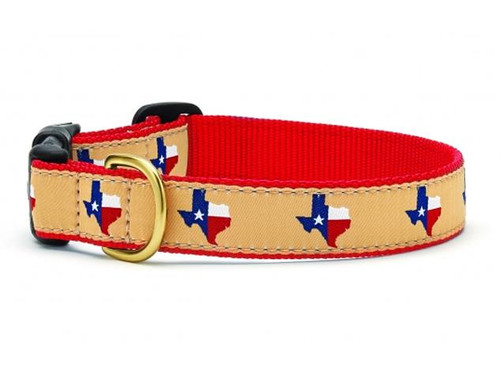 Texas Red Dog Collar