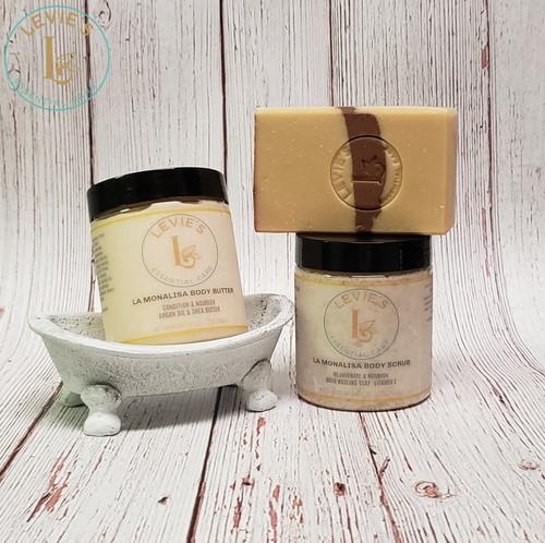 La Monalisa Body Scrub (NOT including Soap and Body Butter)