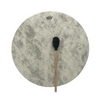 A Remo Buffalo Hide Drum measuring 22 inches in diameter with complementary Remo Beater.