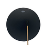 A Remo Black Bahia Buffalo Hide Drum measuring 16 inches in diameter with complementary Remo Beater.