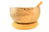 "9"" G/G# Note Antique Himalayan Singing Bowl #G18800716"
