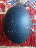 Egg of Creation - Women's Mysteries Rattle - Aries/Astrological constellation, on natural black/charcoal egg.