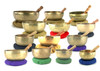 "6-10"" 13-Note C Chromatic Scale Himalayan Singing Bowl 13 Note Set -alayanset130 cents"