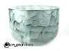 "13"" 432 Hz Perfect Pitch D Note Blue Tourmaline Empyrean Crystal Singing Bowl -30 cents  11001174"