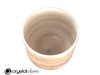 """7"""" F#  Note Garnet Fusion Opaque Crystal Singing Bowl +25 cents  11001283"""