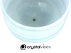"11"" 432Hz Perfect Pitch F Note Aquamarine Fusion Empyrean Crystal Singing Bowl -35 cents  11001352"