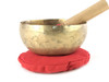 "6"" D#/A Note Engraved Himalayan Singing Bowl #d6040120x"