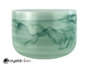 "13"" Perfect Pitch A Note Emerald Fusion Empyrean Crystal Singing Bowl -5 cents  11001417"