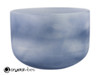 """9"""" 432Hz A Note Lapis Fusion Empyrean Crystal Singing Bowl -25 cents  11001419"""