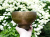 "Special 7"" C/F Note Antique Naga Pedestal Himalayan Singing Bowl #c8640819"