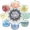 Precious Jewel Empyrean Gemstone Singing Bowl Set