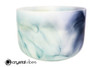 "13"" Perfect Pitch A Note Citrine/Lapis/Turquoise Gemstone Fusion Empyrean Crystal Singing Bowl +0 cents  11001684"