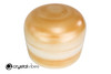 """12"""" 432Hz Perfect Pitch D Note Citrine Gemstone Fusion Empyrean Crystal Singing Bowl -30 cents  11001687"""