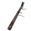 G 432hz Native Style Walnut Flute