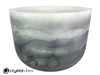 """14"""" 432 Hz Perfect Pitch G Note Black Tourmaline Fusion Empyrean Crystal Singing Bowl -30 cents  11001838"""