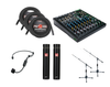 Wireless 3 Mic USB Audio Package For Sound Healing Online