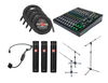 Wireless 4 Mic USB Audio Package For Sound Healing Online