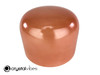 """10"""" Crystal Vibes 432 Hz D Note Carnelian Empyrean Crystal Singing Bowl -30 cents  11002042"""