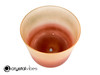 """7"""" D Note Carnelian/Sunstone Fusion Translucent Crystal Singing Bowl US -45 cents  11002062"""