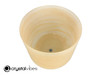 """7"""" D Note Translucent Fulgurite Fusion Crystal Singing Bowl US +45 cents  11002067"""
