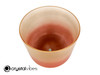 """8"""" Perfect Pitch D#  Note Sunstone/Carnelian Fusion Translucent Crystal Singing Bowl OJ +5 cents  11002083"""