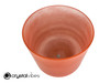 """8"""" D Note Carnelian Fusion Translucent Crystal Singing Bowl SR +45 cents  11002140"""