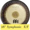 "Meinl 28"" Symphonic Gong E / F"